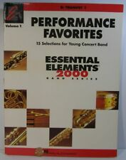 Hal Leonard Perf Favorites Essential Elements 2000 Series Bb Trumpet 1