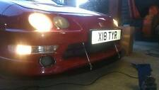 STUKE FRONT SPLITTER LIP INTEGRA DC2 UK JDM (CIVIC CUP) ALUMINIUM DOWNFORCE