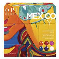 OPI Gel Color - Mexico City 2020 Spring Gel Polish Collection - SET A (6 x 15ml)