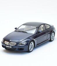 Revell 08844 BMW M6 6er Sportcoupe in dunkelblau lackiert, 1:18, OVP, K036