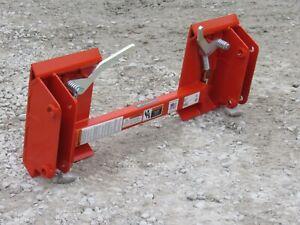 Kubota LA350 LA401 LA452 to Skid Steer Quick Attach Adapter Conversion 832810
