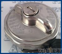 MK2 Polished STAINLESS STEEL Locking Fuel Petrol Cap FORD TRANSIT MK1