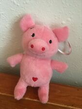 Backpack Hanger Tree Decoration – 5 in Gently Used Plush Pink Stuffed Flying Pig