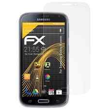 atFoliX 3x Screen Protector voor Samsung Galaxy K zoom mat&schokbestendig
