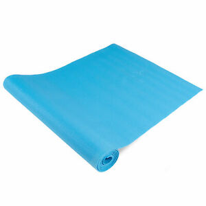 Extra-Long 6ft Non-Slip Classic Yoga Mat with Textured Surface (1/8 inch)