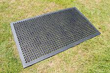Horse Farm Field Gateway Rubber Matting Grass Mat 900mm x 1500mm