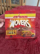 RARE NIB Majorette Movers Circus Van With Trailer 300 Series