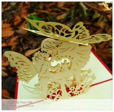 3D Greeting Card Anniversary Faeries Fall In Love Confession Valentine's Day