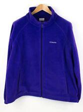 COLUMBIA Men Zip Fleece Jumper Cardigan Size 3XL ACZ387