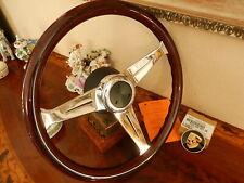 NARDI Steering Wheel For Porsche 356 B C + Hub + Badge Plakette PCG 559 80100