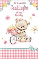 Tarjeta de cumpleaños a un especial nieta-Bicicleta