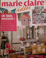 MARIE CLAIRE IDEES N°81 DECEMBRE 2010 POUPEES RUSSES NOEL LE KRAFT DECO ETOILEE