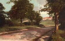 Sanderstead from Purley Beeches unused old pc R & C Durer