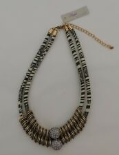 M. HASKELL Necklace Gold Silver Statement Multi-Colored Fashion Jewelry