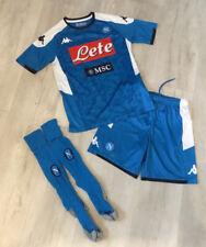 Kids Napoli Football Kit Strip Shirt Shorts Socks Age 10 - Worn Once