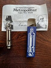New Vintage Metropolitan The Authentic British Police Whistle