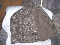 Extreme Cold Weather Parka 3X Waterproof Insulated Jacket 4n1 Realtree Camo Coat