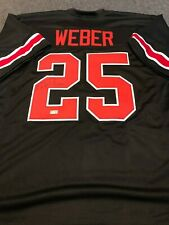 OHIO STATE BUCKEYES MIKE WEBER AUTOGRAPHED SIGNED JERSEY TRISTAR HOLO