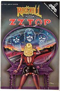 Rock N Roll Comics #25 Featuring ZZ Top, Near Mint Minus Condition