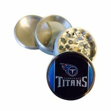 Tennessee Titans Football Kitchen Spice Herb Grinder 4 PC Tobacco Crusher Metal