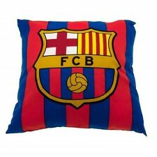 FC Barcelona Filled Cushion Bedroom Crest Gift Official Licensed Football Club