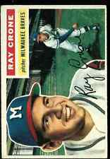 1956 Topps Ray Crone # 76 EX+