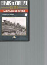 DVD CHARS DE COMBAT 2nde GUERRE MONDIALE N°04 - LA BATAILLE DE KOURSK