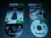 2 Game Lot Rocksmith & 2014 (Microsoft Xbox 360) No Cable - Free FAST SHIPPING