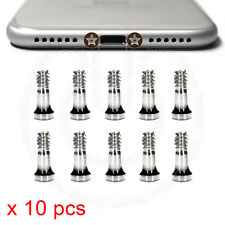 10 x Bottom Screws Pentalobe SILVER Screw set for Apple iPhone 7, iPhone 7 Plus