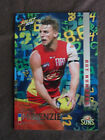 2016 SELECT FOOTY STARS AFL CARDS HOT NUMBERS GOLD COAST SUNS T McKENZIE HN62