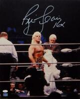 Ric Flair Autographed 16x20 In Ring Photo with Insc- JSA Auth *White