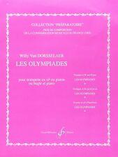 Les Olympiades pour trompette en si bémol ou piston ou bugle et piano