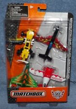 MATCHBOX SKY BUSTERS 2015 AIR SHOW PACK 4 PLANES