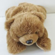 Ty 2003 14 Inches Brown Bear Stuffed Animal Plush Toy