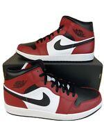 Nike Air Jordan 1 Mid Chicago Black Toe 2020 Size 13 SKU 554724-069 New In Box