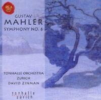 DAVID ZINMAN/TONHALLE ORCHESTER ZÜRICH - MAHLER-SYMPHONY NO.6-2 CD 4 TRACKS NEW+