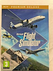 Microsoft Flight Simulator 2020 Premium Deluxe PC DVD NEW IN STOCK!