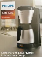 Philips HD7546/20 Gaia Filter-Kaffeemaschine mit Thermo-Kanne, schwarz/metallOVP