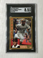 ROBERTO CLEMENTE 2019 Topps Update 35th 1984 GOLD SP 08/50! SGC NM-MT+ 8.5! RARE