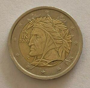 2 € Italie 2002  Dante Alighieri Italie