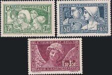 """FRANCE 1927-1931 """"Sinking Fund"""" Top Value set Gummed Reproduction Stamp sv"""