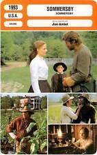 FICHE CINEMA : SOMMERSBY - Gere,Foster,Pullman,Amiel 1993
