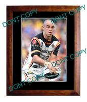 LIAM FULTON WESTS TIGERS STAR LARGE A3 RUGBY PHOTO