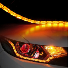 8LED Switchback Car Flexible LED Strip Light DRL Sequential Turn Signal Lamp
