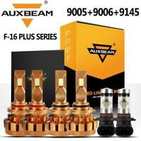 AUXBEAM 9005+9006+9145 LED Headlight Decoder Fog for Jeep Grand Cherokee 05-10