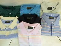 Men's BOBBY JONES Collection Polo Golf Shirts XXL 7 Diff.Designs Short Sleeves