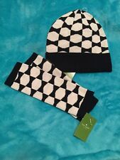 Kate Spade Bow Knit Hat And Arm Warmers