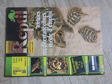 $$ Revue Reptil mag N°19 tortues mediterraneennes  basilics  blattes  eclairage
