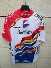 VINTAGE Maillot cycliste BANESTO Tour de France 1996 INDURAIN camiseta jersey L