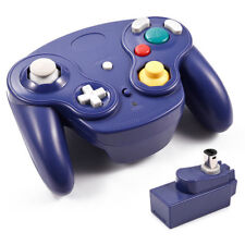 Blue 2.4GHz Wireless Controller Gamepad For GameCube GC NGC Console Accessory